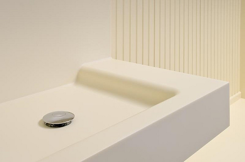 clean corian sink